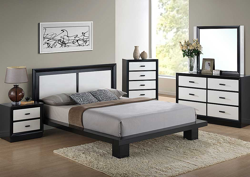 Home Furniture Global Furniture USA Bedrooms Cali King Be