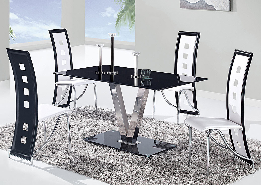Smart Buys Furniture - Goodlettsville, TN Black/Stainless Steel ...