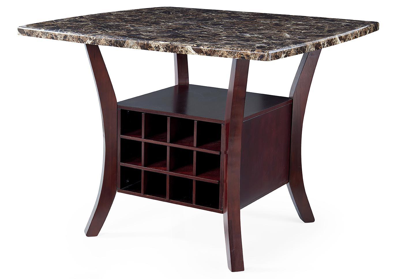 Wala Espresso Bar Table,Global Furniture USA
