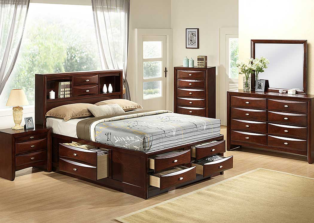 Home Furniture Global Furniture USA Bedrooms Linda Merlot