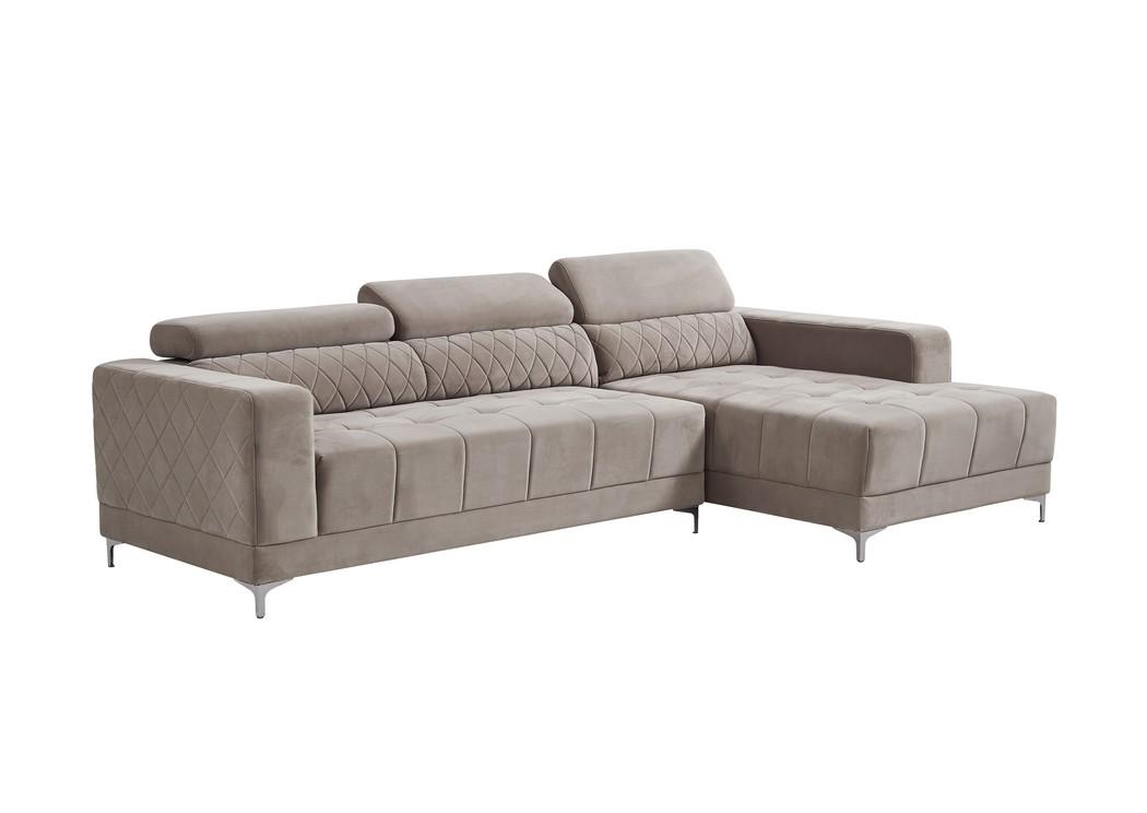 Sleep Cheap Furniture Jersey City NJ Hyde Oat 2Pc Sectional