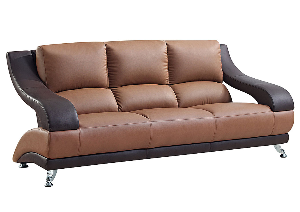 Sarah Furniture, Accessories u0026 More : Houston, TX Brown Leather Sofa