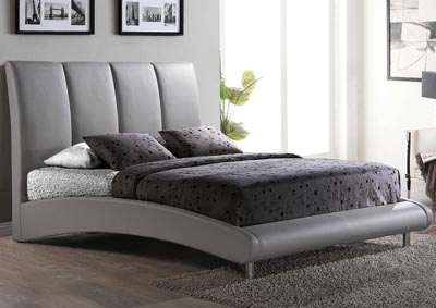 Grey Matte King Bed