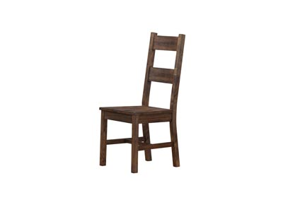 Rustic Brown Dining Chair