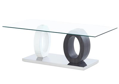 White/Grey Paper Coffee Table
