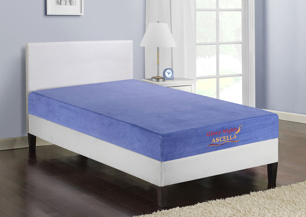 Furniture ville bronx ny ascella blue twin mattress for Furniture ville