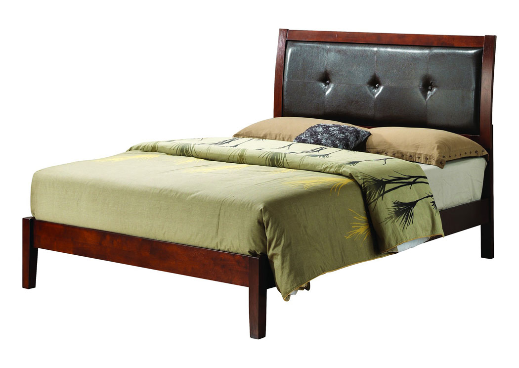 Cherry Queen Bed,Glory Furniture