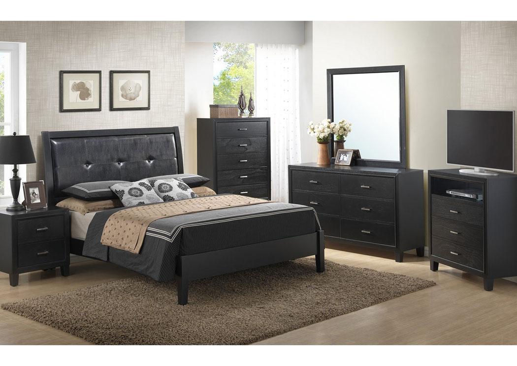 Furniture Direct - Bronx, Manhattan, New York City, NY Black Queen ...