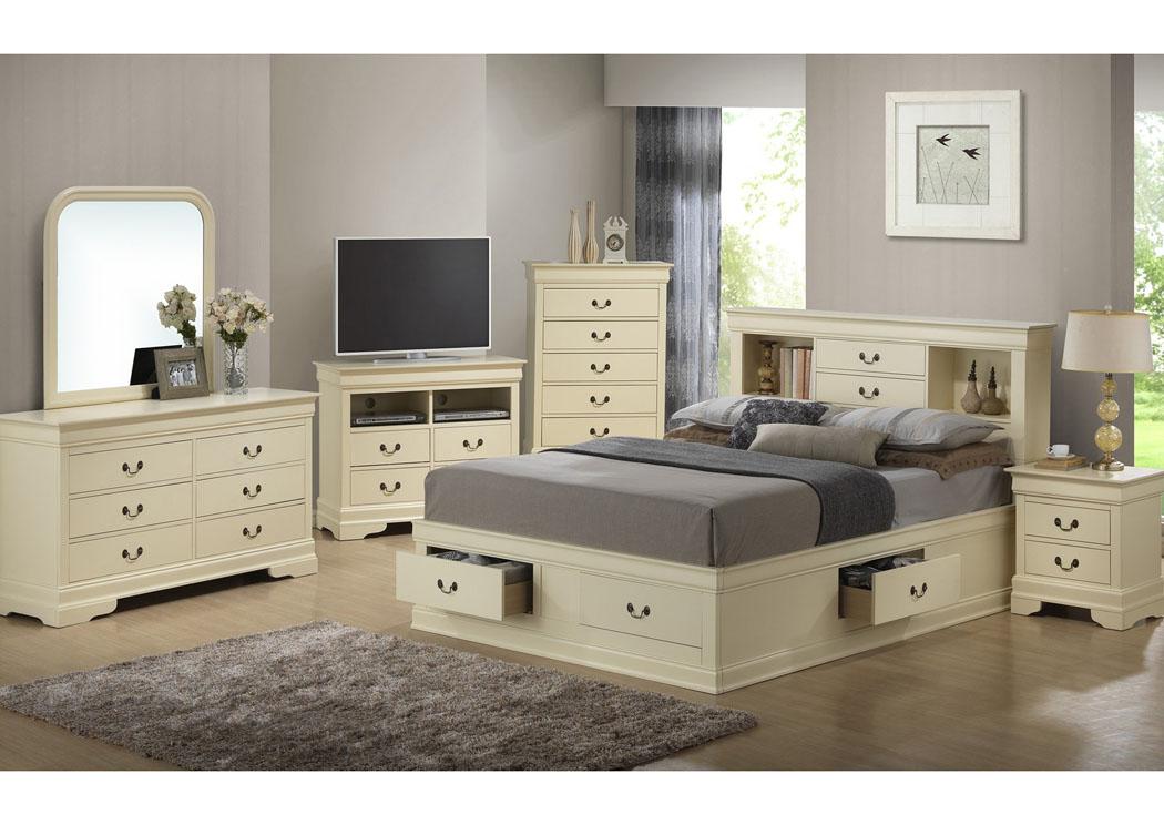 home furniture glory furniture bedrooms beige queen stora
