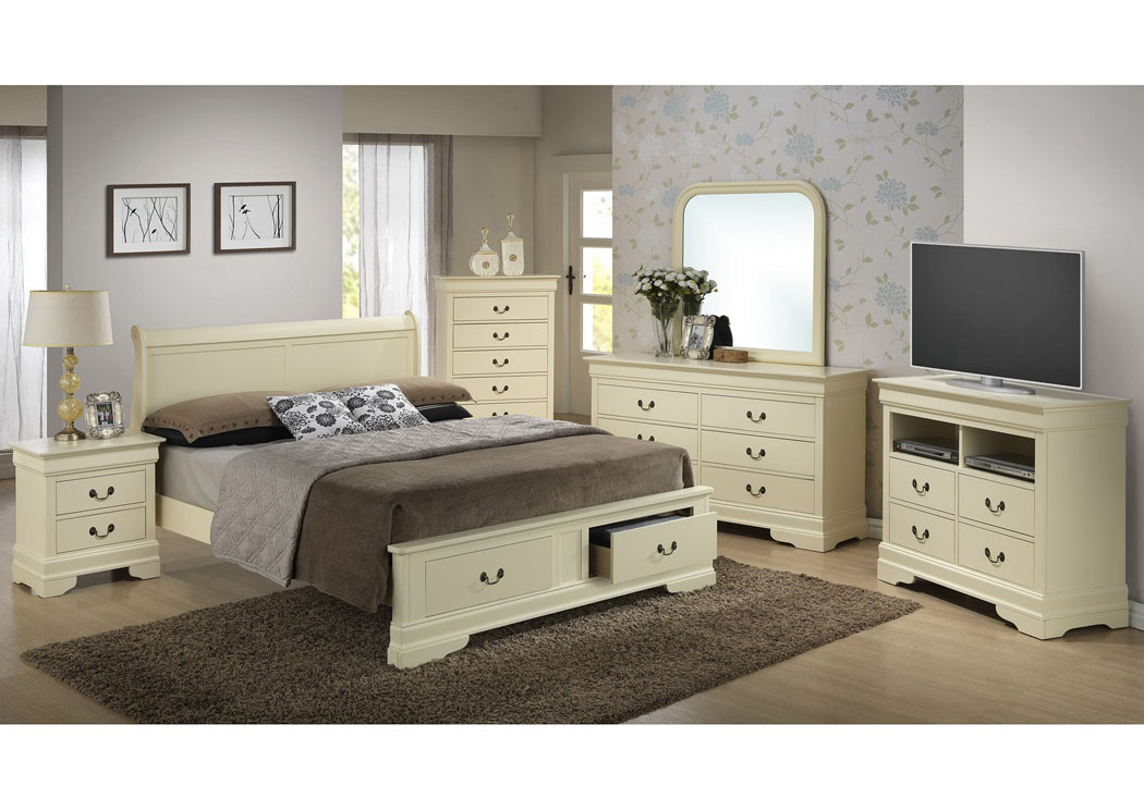 home furniture glory furniture bedrooms beige king low pr