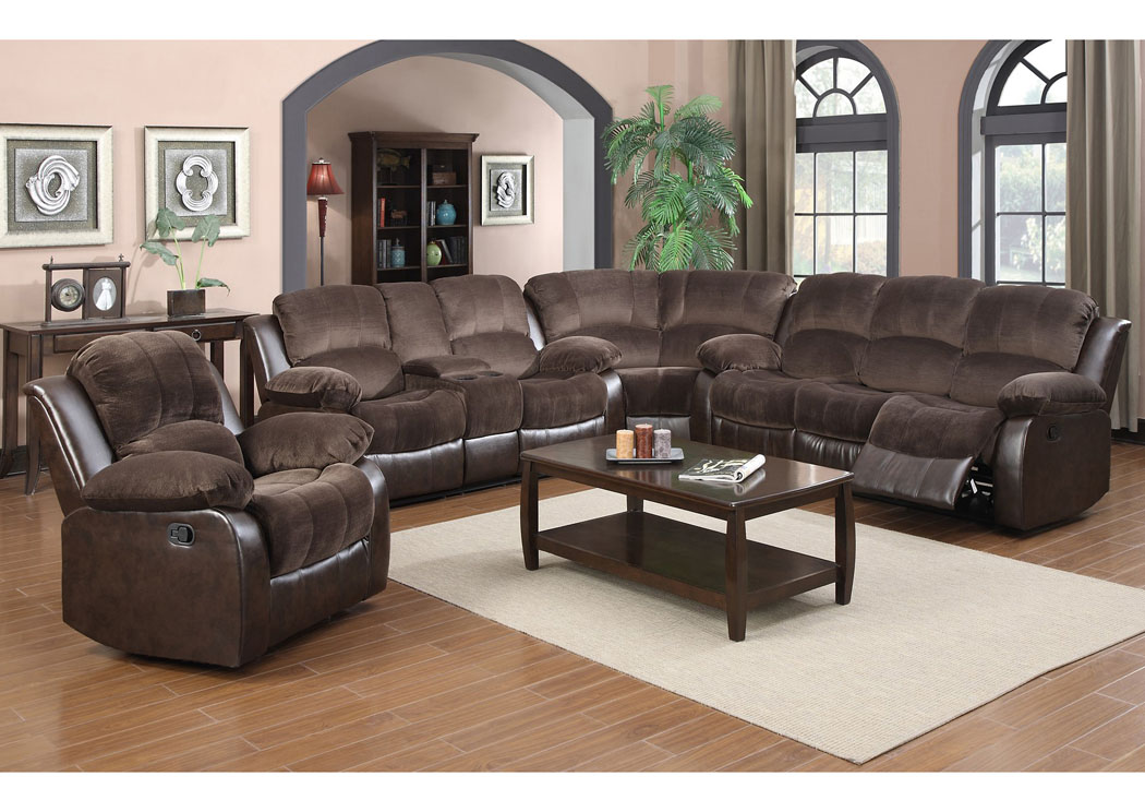 Best Buy Furniture And Mattress Brown Double Reclining Sectional