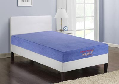 Ascella Blue Twin Mattress