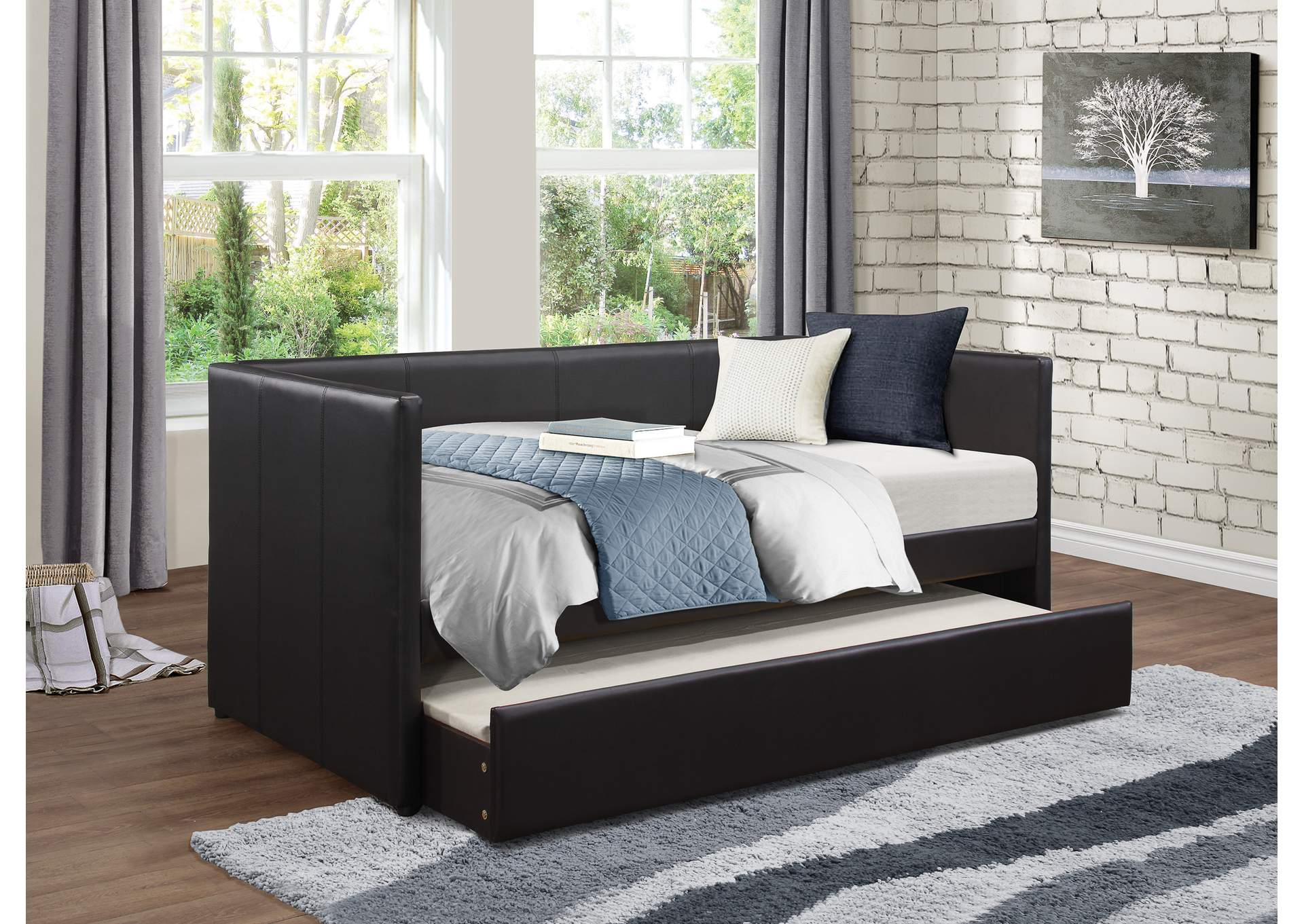 Daybed w/Trundle,Homelegance