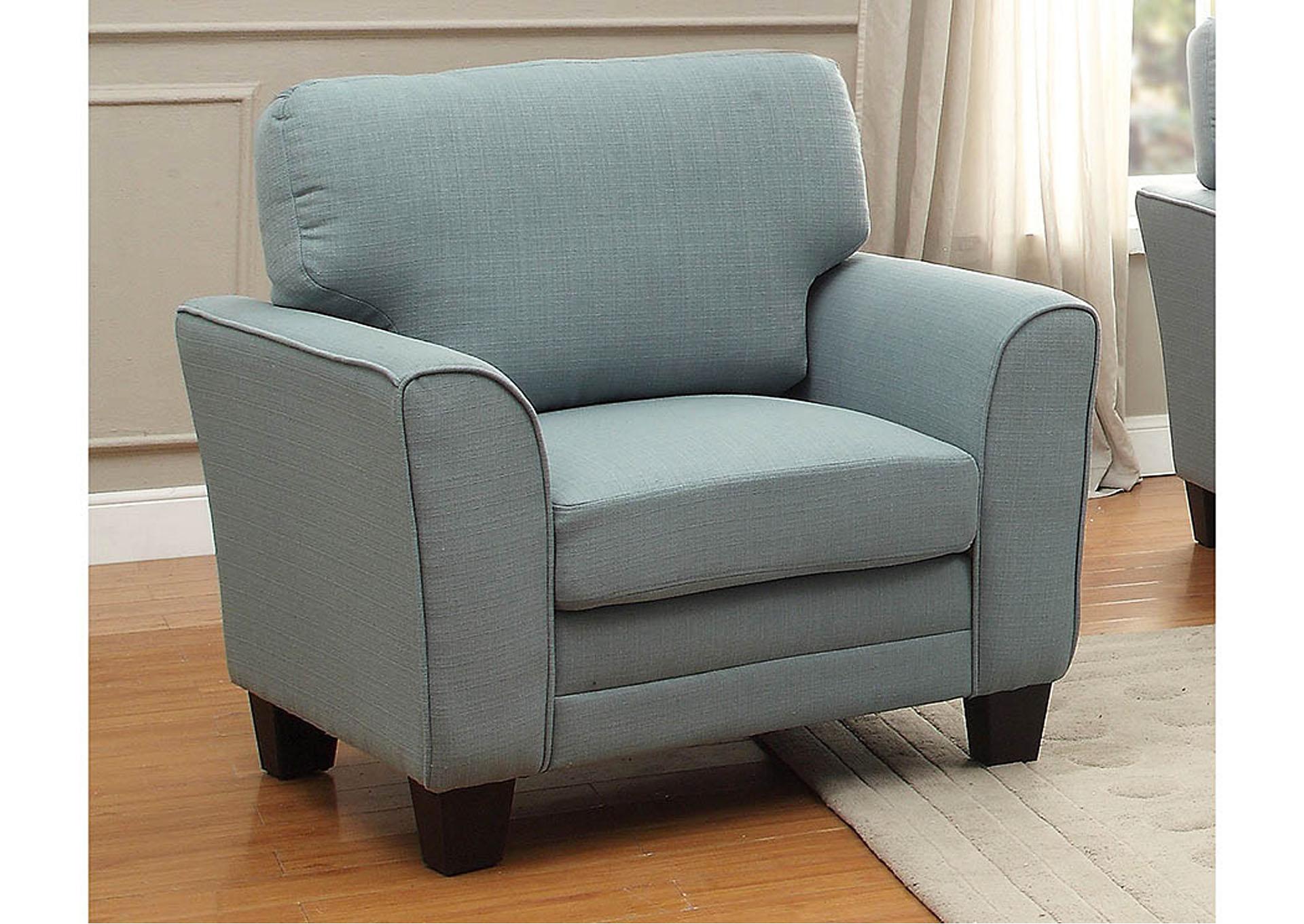 Long Island Discount Furniture Adair Teal Chair