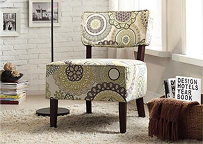 Orson Multicolor Accent Chair