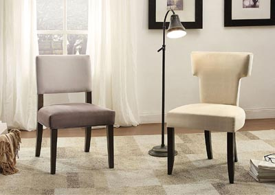 Jacinta Gray Accent Chair