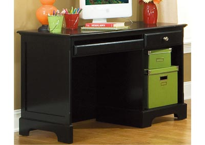 Morelle Black Writing Desk
