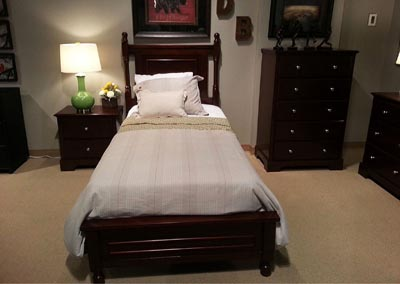 Cherry California King Bed
