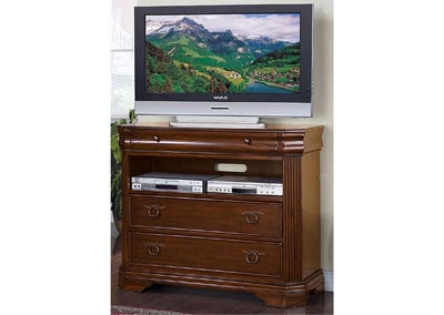 Karla Brown Cherry TV Chest