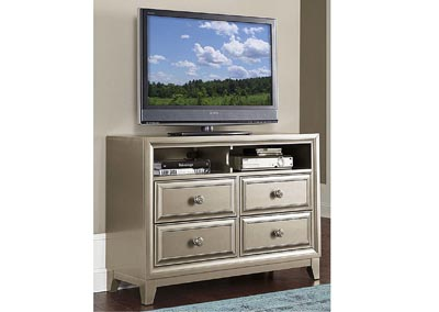 Hedy Silver TV Chest