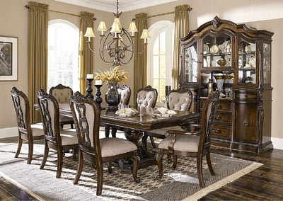 China Cabinet Buffet & Hutch,Homelegance