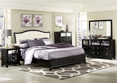 Jacqueline Upholstered Queen Bed