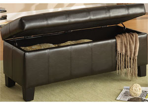 Clair Lift Top Storage Bench,Homelegance