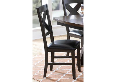 Rockville Espresso Side Chair