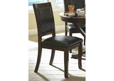 Helena Deep Cherry Side Chair