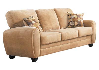 Rubin Light Brown Sofa
