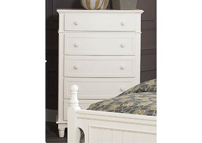 Clementine White Drawer Chest