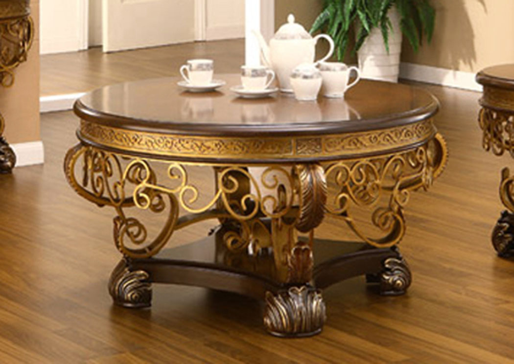 Gold Coffee Table,Homey Design