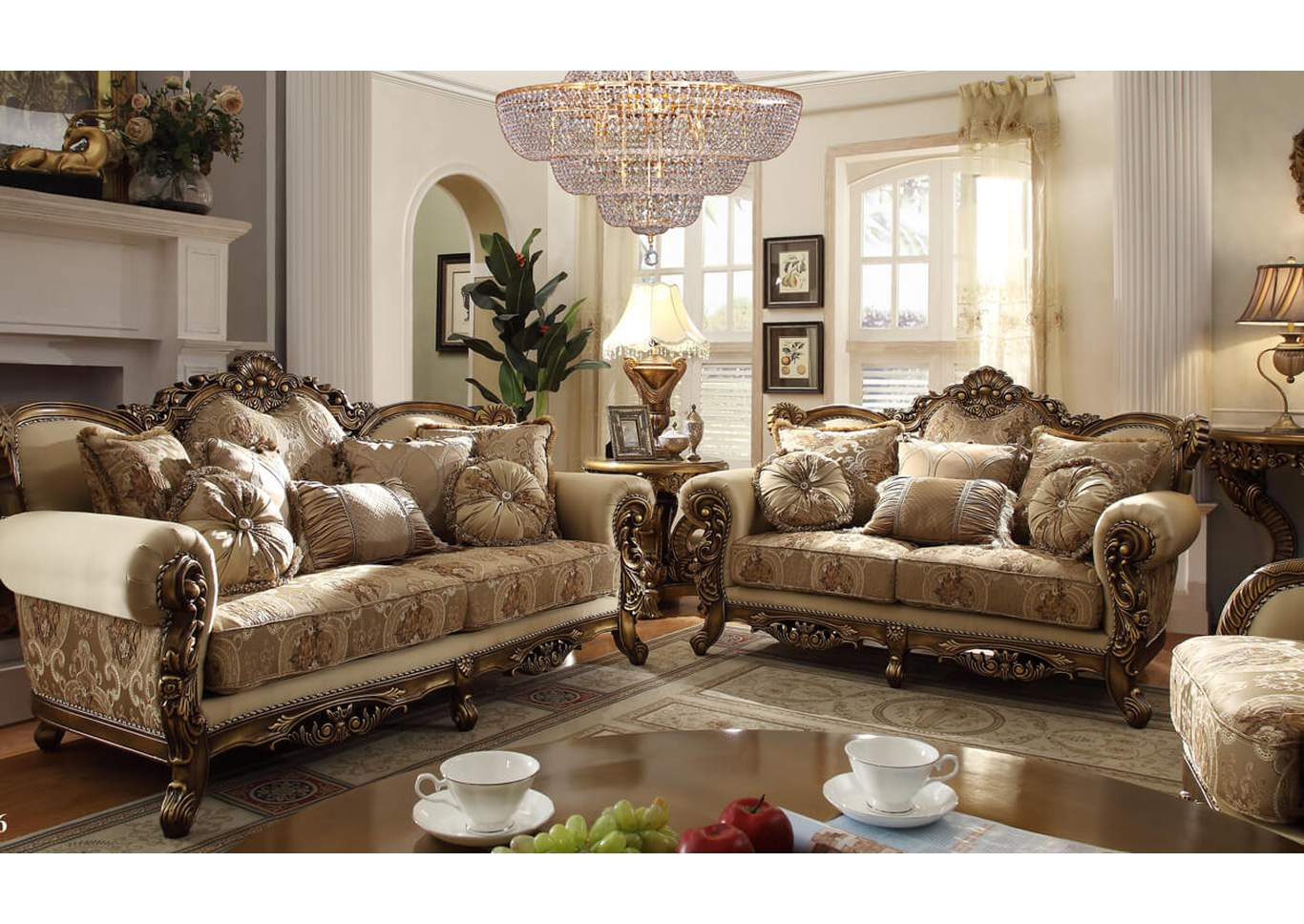Sofa & Loveseat,Homey Design