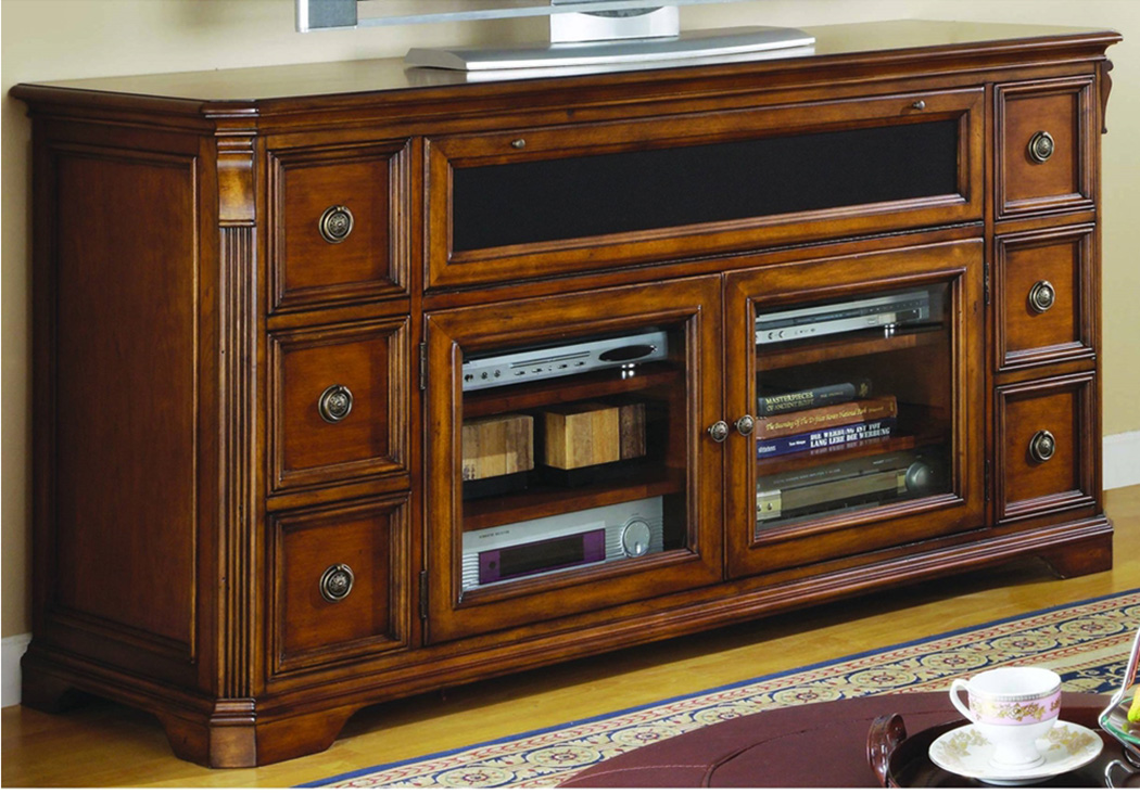 Brookhaven Entertainment Console,Hooker Furniture