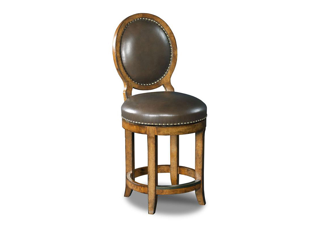 Mojito   Oval Back Counter Stool (Cu0026S),Hooker Furniture