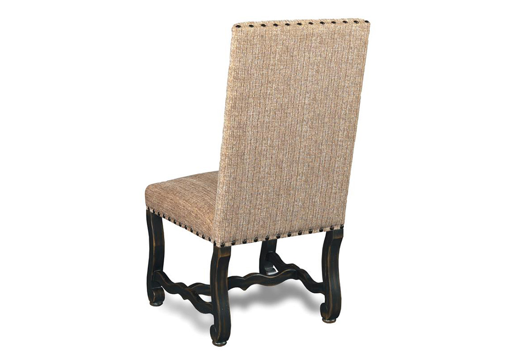 Ebony Churchill Sand Armless Dining Chair (Set Of 2),Hooker Furniture