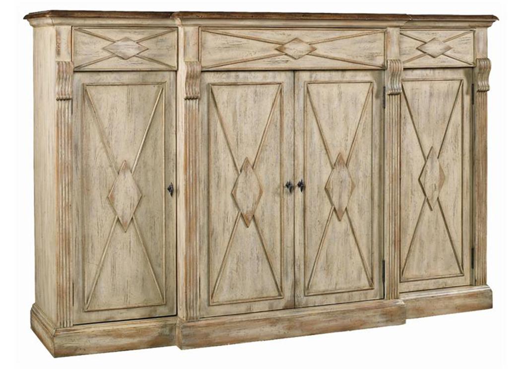Jesup Furniture Outlet Sanctuary 4 Door 3 Drawer Credenza