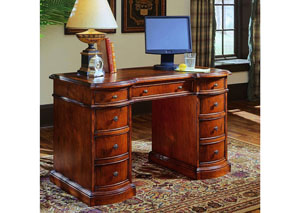 Knee-Hole Desk-Bow Front