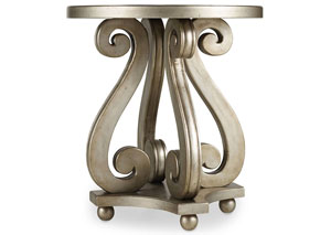 Melange Luna Accent Table