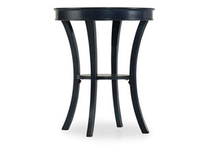 Melange Teal Semblance Accent Table
