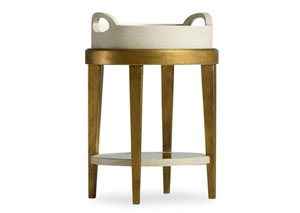 Melange Gilded Accent Table