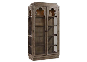 Melange Chantal Display Cabinet
