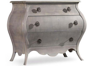 Melange Grey Mini Nina Bombe Chest