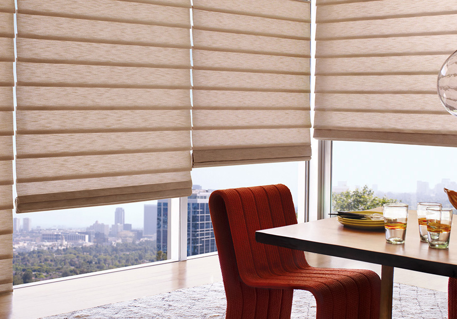 Stylish Roman Shade Window Treatments From Hunter Douglas