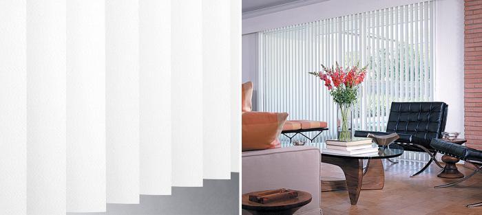 Stylish Hunter Douglas Vertical Window Blinds And Sliding