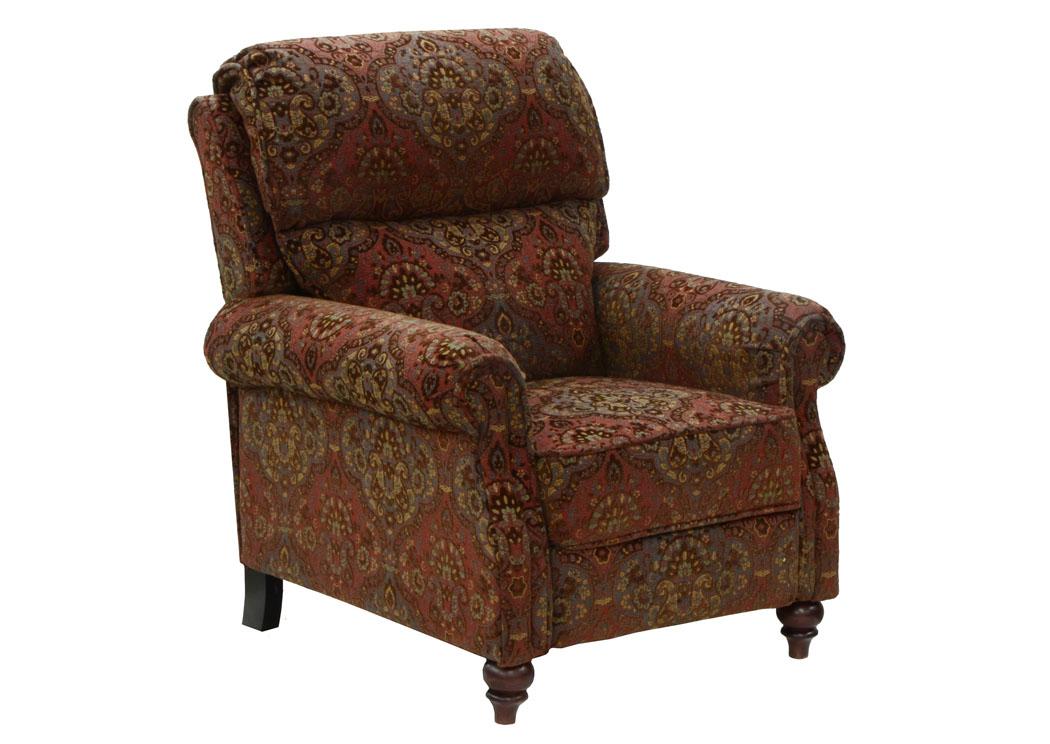 Compass Furniture Brennan Garnet Reclining Chair