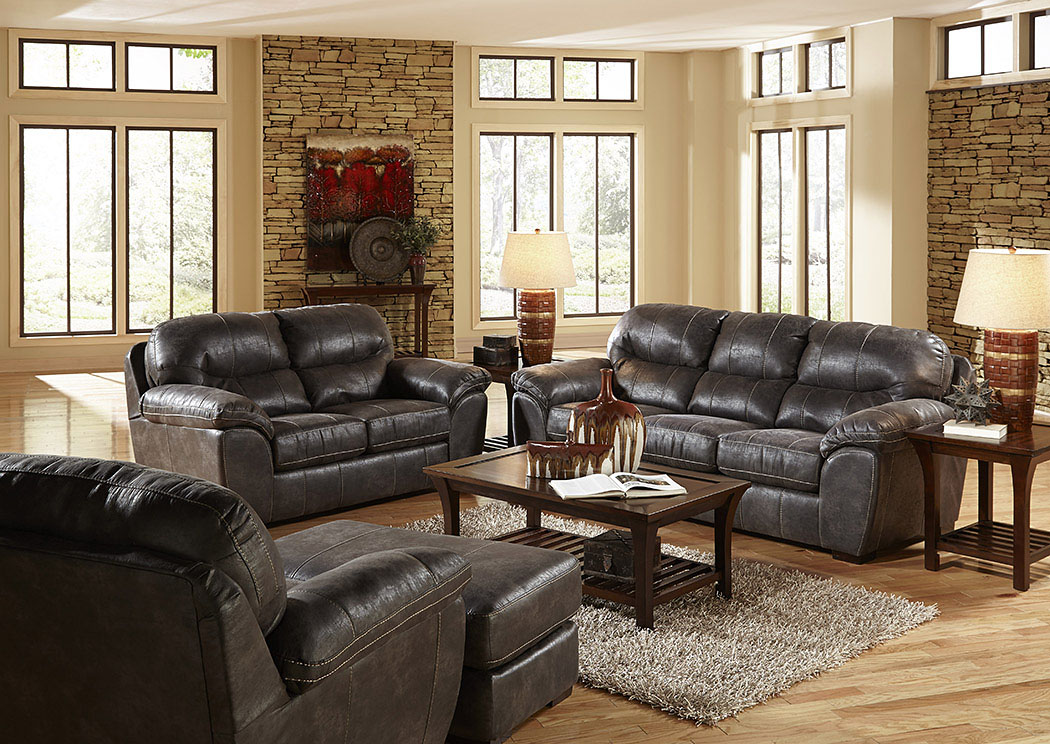 Grant Steel Sofa & Loveseat,Jackson