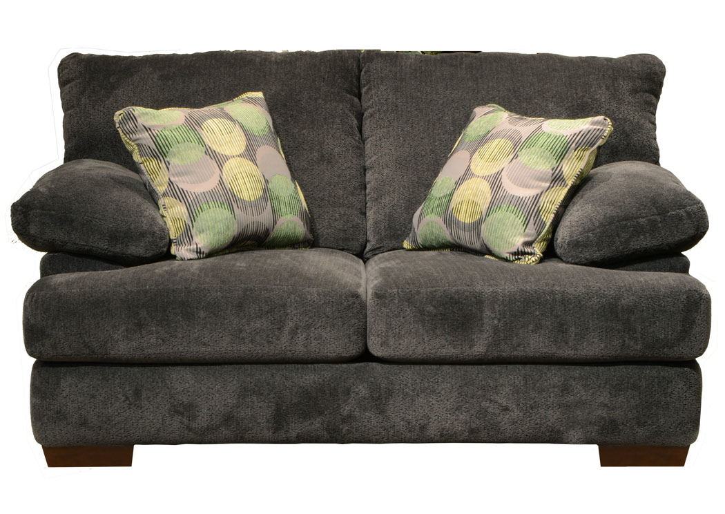 Jarons Armstrong Graphite Loveseat