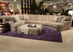 Malibu Taupe Sectional