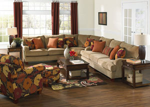 Hartwell Nuggett Sectional,Jackson